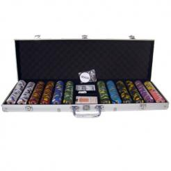 600 kings casino poker chip set