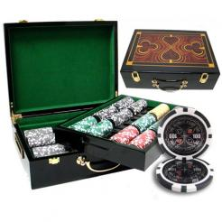 500 ultimate poker chip set in a humidor style case
