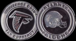 Altlanta Falcons Card Guard