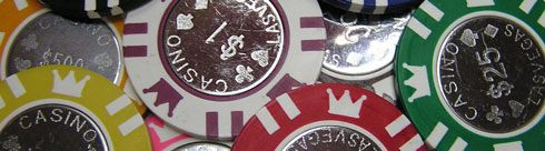 Coin Inlay Poker Chips