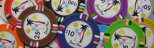 Desert Heat Hotel Poker Chips