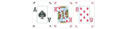 Dual Playing Card Index
