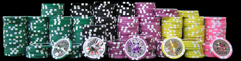 high roller poker chips